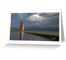 Bad weather can be beautyful Greeting Card