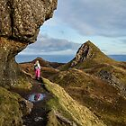Isle of Skye, Cuith Raing walk  by Birgit Van den Broeck