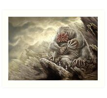 Earth Giant Art Print