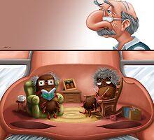 Grandad's Nostrils by Matt Katz