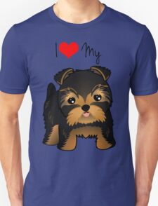 Cute Yorshire Terrier Puppy Dog T-Shirt