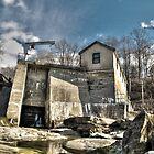 Great Falls Dam by Timothy Borkowski