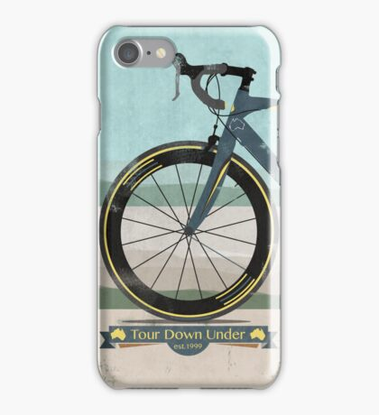 Tour Down Under Bike Race iPhone Case/Skin