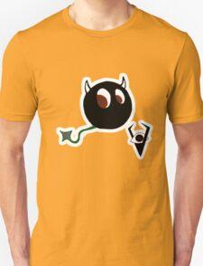 VILLAN DEVIL Character  TEE W/ Logo T-Shirt