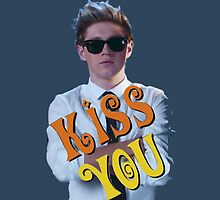 One Direction Kiss You Niall by gleviosa