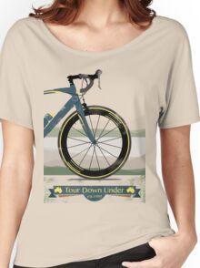 Tour Down Under Bike Race Women's Relaxed Fit T-Shirt