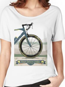 Tour Down Under Bike Race Women's Relaxed Fit T-Shirt