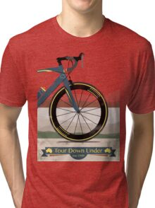 Tour Down Under Bike Race Tri-blend T-Shirt
