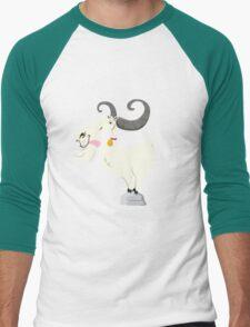 Goat is cool Men's Baseball ¾ T-Shirt