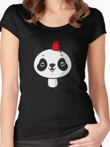 panda panda Women's Fitted Scoop T-Shirt