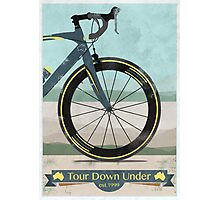 Tour Down Under Bike Race Photographic Print