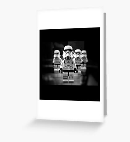 STORMTROOPERS STAR WARS Greeting Card