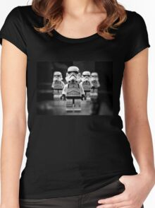 STORMTROOPERS STAR WARS Women's Fitted Scoop T-Shirt