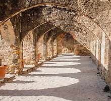 Shadows in the San Jose Mission Convento by Robert Kelch, M.D.