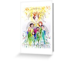 Isaiah 61 Woman Greeting Card