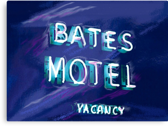 Bates Motel by Russell Pierce
