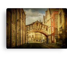 Oxford City Canvas Print