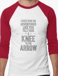 Knee to the Arrow Men's Baseball ¾ T-Shirt