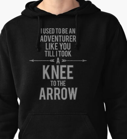 Knee to the Arrow Pullover Hoodie
