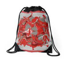 RED STAMP DESIGN Drawstring Bag