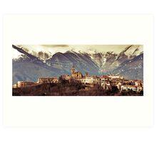 Castel Frentano  Art Print