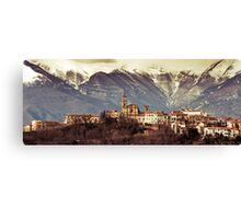Castel Frentano  Canvas Print