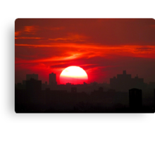 Tuesday Afternoon, New York City Canvas Print