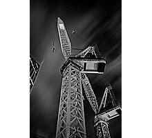 Night Crane Photographic Print