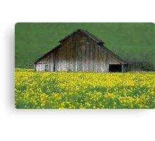 Barn Rural Life Farm Poster, Print & Card Canvas Print