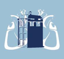 TARDIS Hearts Kids Tee