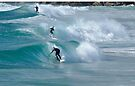 """Surfing a Set """" turn off your mind relax and flloat downstream"""" John Lennon by Barbara Burkhardt"""