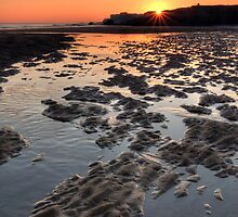 Beach Sunrise by Great North Views
