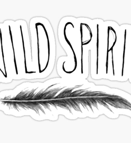Wild Spirit Sticker