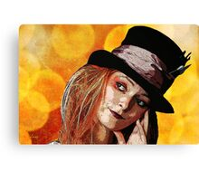 Tophat Canvas Print