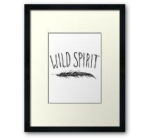 Wild Spirit Framed Print
