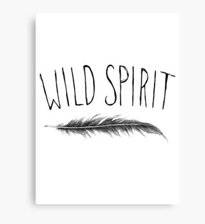 Wild Spirit Canvas Print
