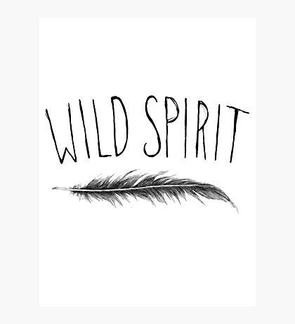 Wild Spirit Photographic Print