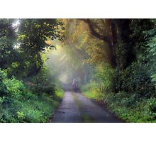 Once upon a country lane Photographic Print
