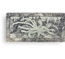 Hydra and the City Canvas Print