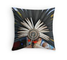 Aztec Dancer Throw Pillow