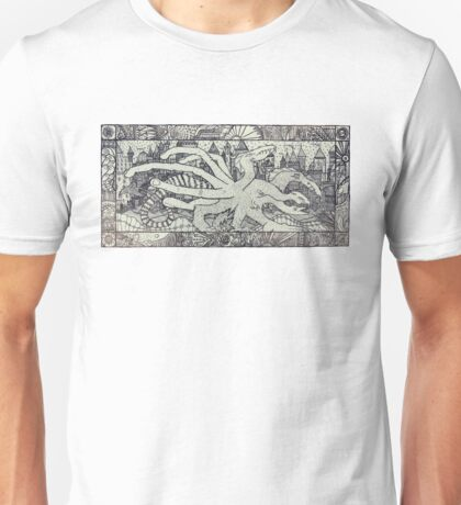 Hydra and the City Unisex T-Shirt