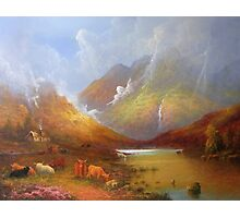 The Little Croft In The Scottish Highlands Photographic Print