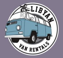 Back to the Future 'Libyan Van Rentals' Logo T-Shirt