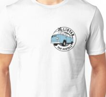 Back to the Future 'Libyan Van Rentals' Logo Unisex T-Shirt