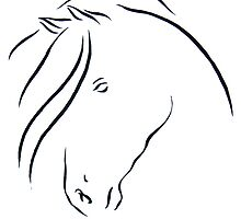 Horse Essence i by Keena Friedrichsmeier