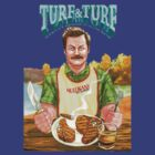 Ron Swanson- Turf and Turf by silverkid
