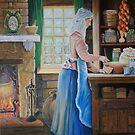 The Cook Finished & Signed by Ken Tregoning