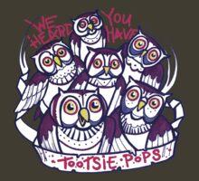 oh hai owls by resonanteye