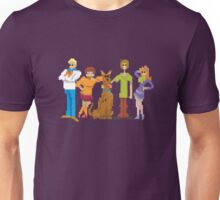 8-Bit Scooby Doo Gang Unisex T-Shirt