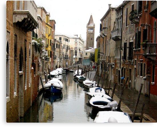 Venetian Canal by jlv-